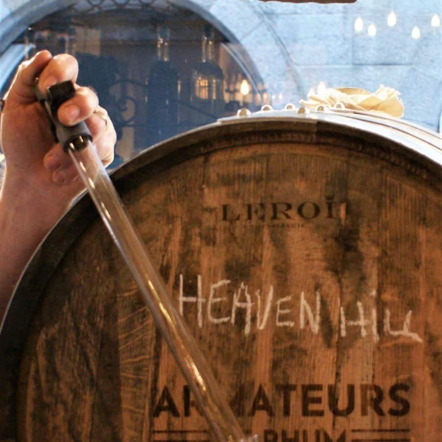 Fût rhum Bourbon Cognac